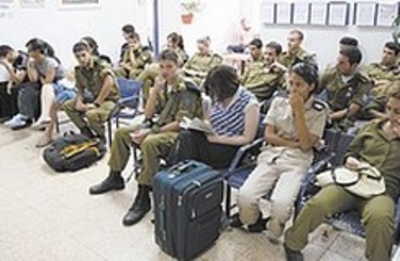 soldiers wait for doctor 248.88 (photo credit: IDF)