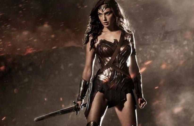 Gal Gadot as Wonder Woman (photo credit: FACEBOOK)