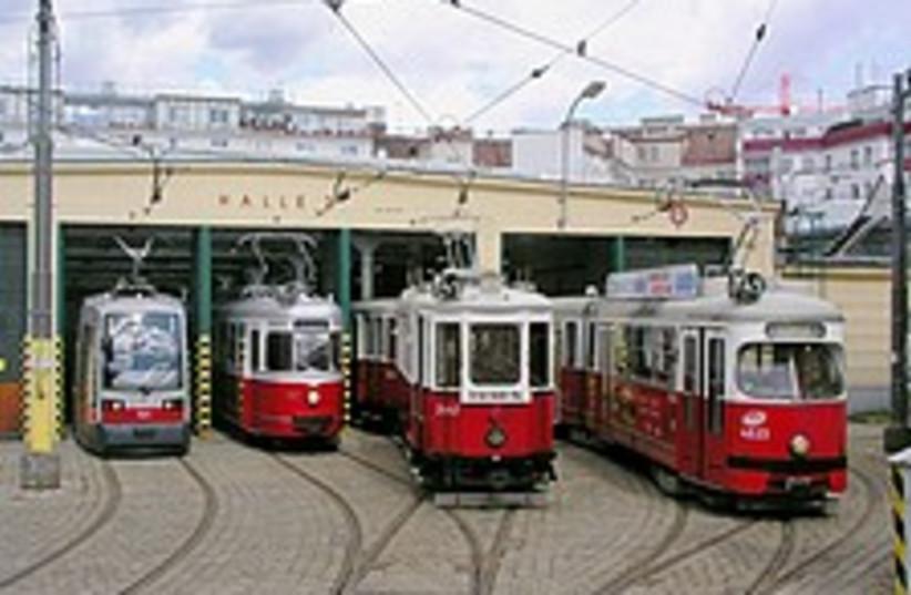 vienna trams 224 88 (photo credit: Courtesy)
