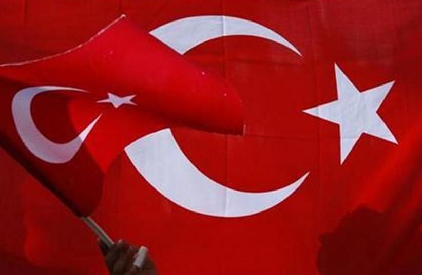 Turkish flag (photo credit: REUTERS)