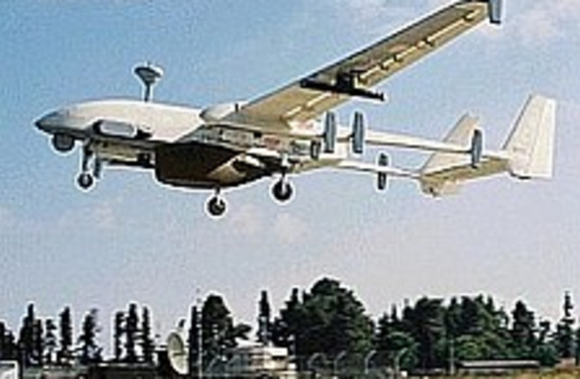 heron uav iai 224 88 (photo credit: IAI)