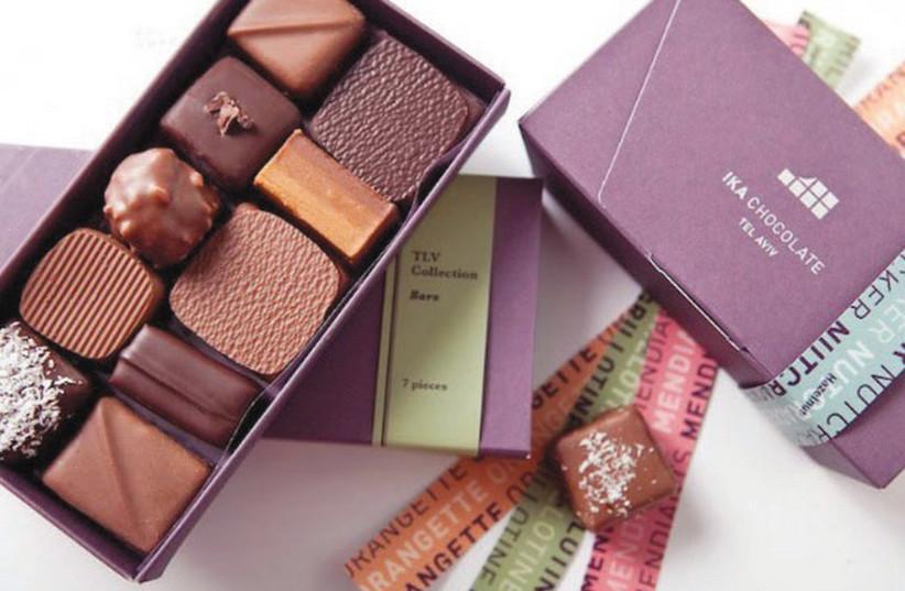 Truffles from Ika Chocolate (photo credit: PR)