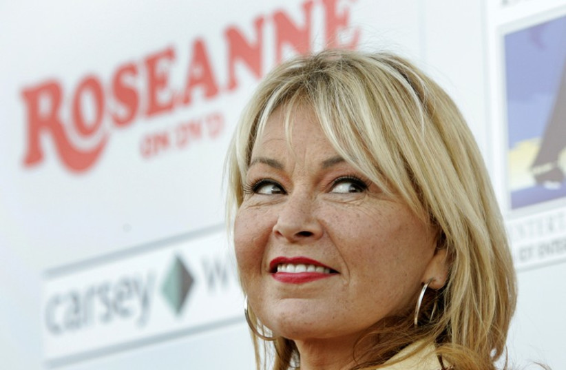 Roseanne Barr (photo credit: REUTERS)