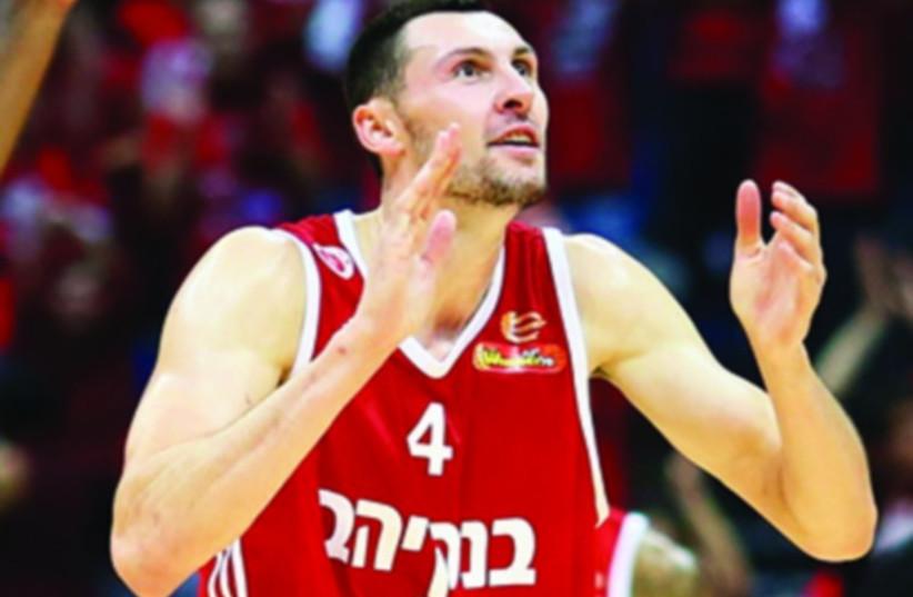 Hapoel Jerusalem forward Tony Gaffney (photo credit: LIRON MOLDOVAN/BSL)
