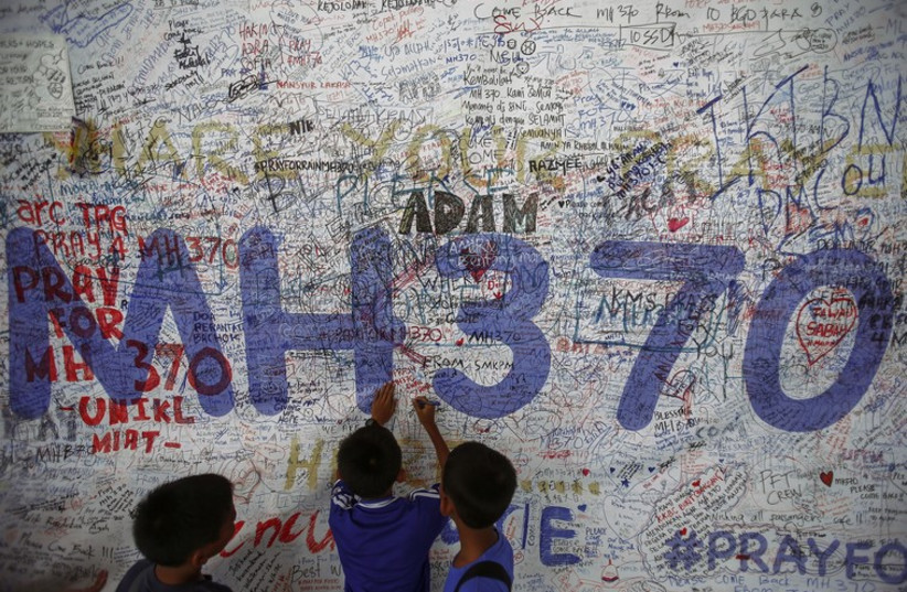 MH370 (photo credit: REUTERS)