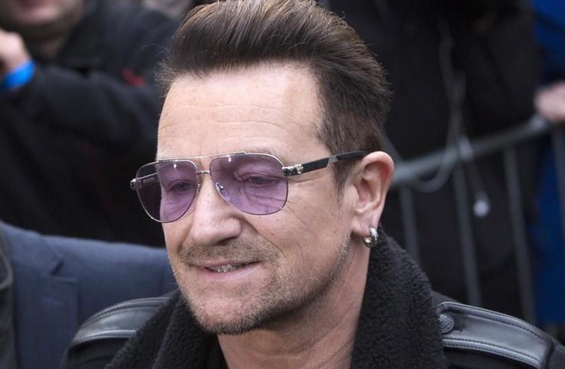U2 lead singer Bono (photo credit: REUTERS)