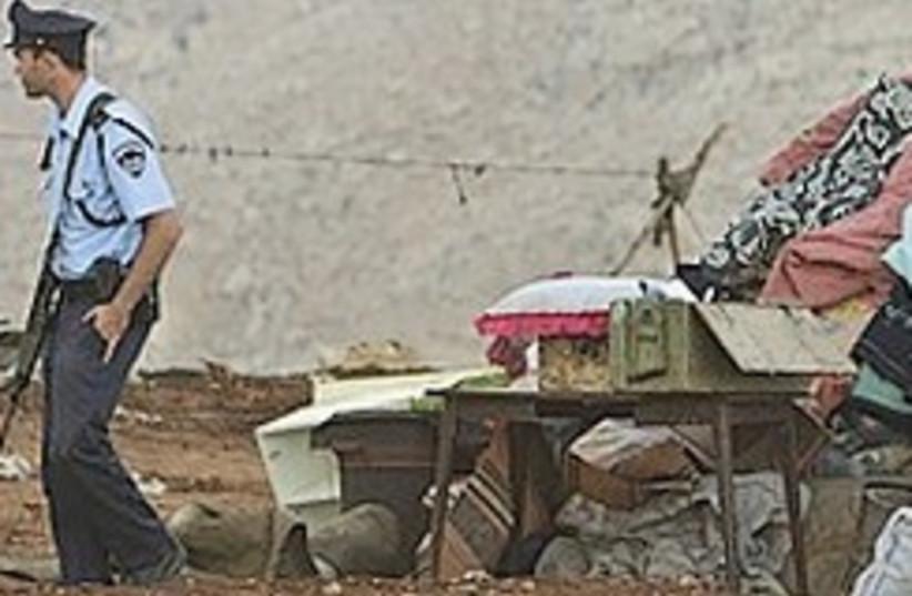 beduin demolition 224.88 (photo credit: AP)