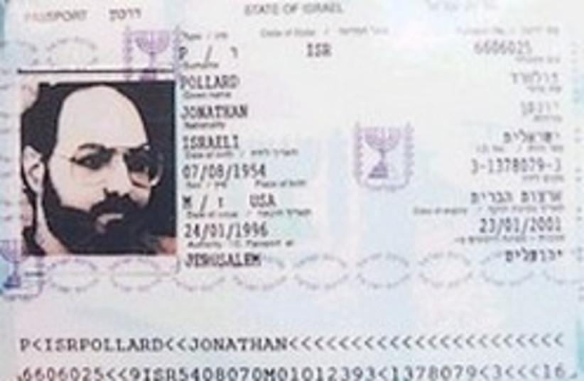 pollard passport 248.88 (photo credit: Brian Hendler)