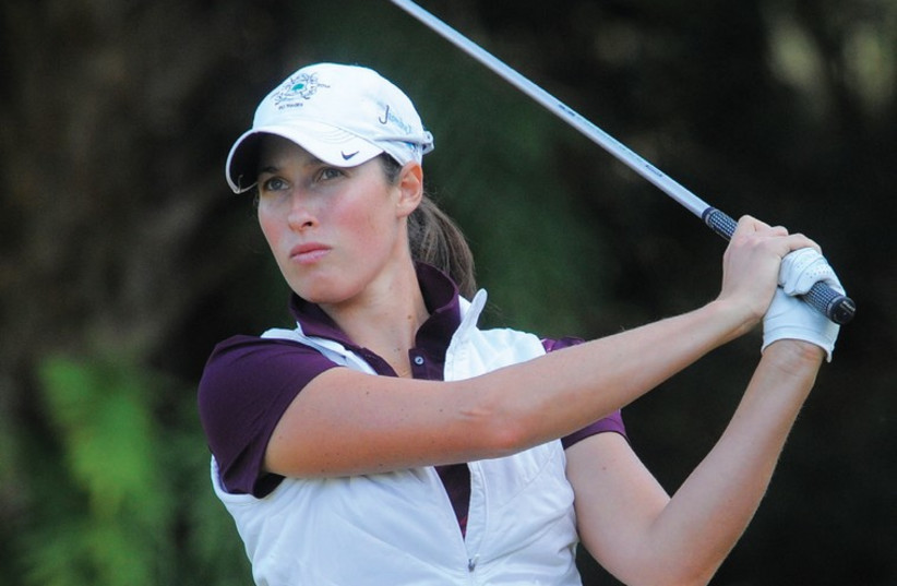 Laetitia Beck is nervous, yet also excited and confident, as she gets used to the idea that she will be playing full time on the LPGA Tour next year (photo credit: MARK SIMS)