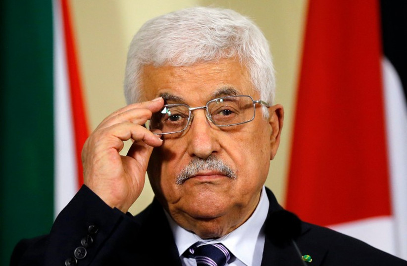 Palestinian Authority President Mahmoud Abbas (photo credit: REUTERS)