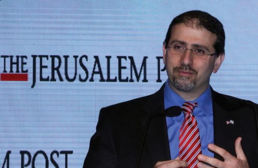 US AMBASSADOR Dan Shapiro addresses the Jerusalem Post Diplomatic Conference in the capital (photo credit: MARC ISRAEL SELLEM)