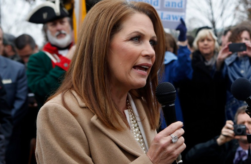 Michele Bachmann  (photo credit: REUTERS)