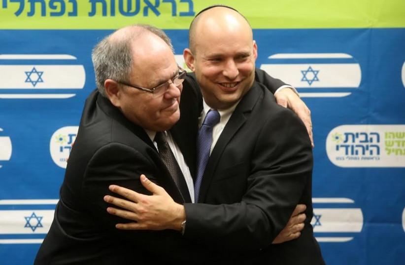 Dani Dayan and Naftali Bennett. (photo credit: MARC ISRAEL SELLEM/THE JERUSALEM POST)
