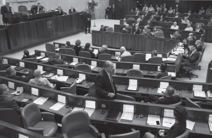 Knesset (photo credit: BAZ RATNER)