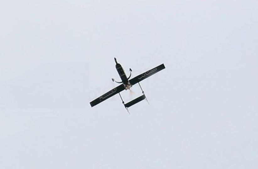 Hamas made drone (photo credit: HAMAS MEDIA)