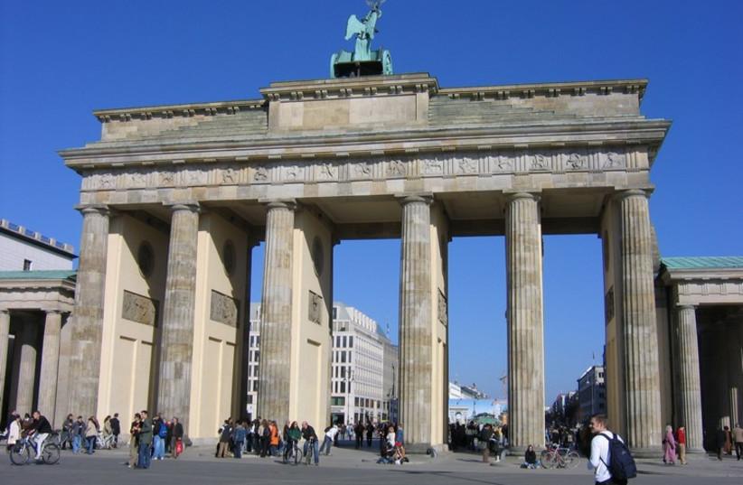 Berlin's  Brandenburg Gate (photo credit: Wikimedia Commons)