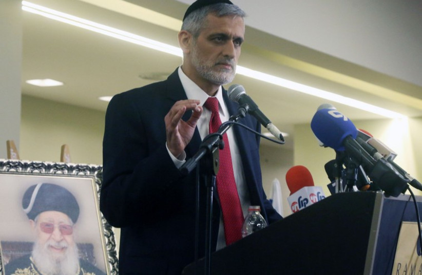 Eli Yishai (photo credit: MARC ISRAEL SELLEM/THE JERUSALEM POST)