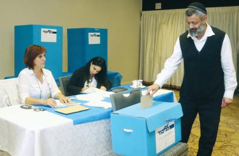 Elections in Israel (photo credit: MARC ISRAEL SELLEM/THE JERUSALEM POST)