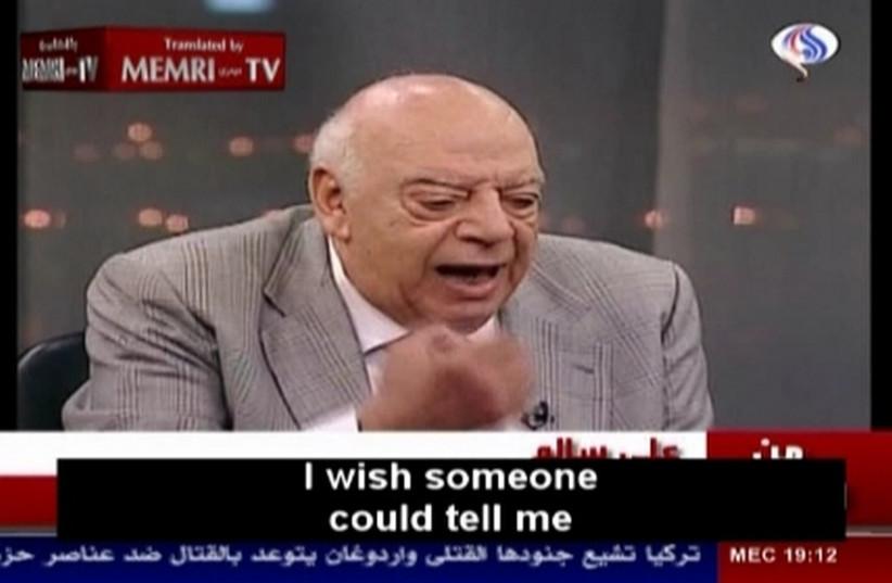Egyptian writer and playwright Ali Salem (photo credit: MEMRI)