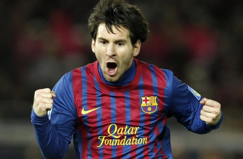 FC Barcelona superstar Lionel Messi (photo credit: REUTERS)