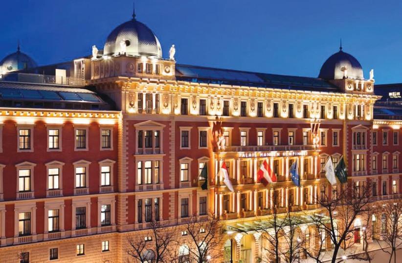 THE FACADE of the Hotel Palais Hansen Kempinski in Vienna. (photo credit: PALAIS HANSEN KEMPINSKI VIENNA)