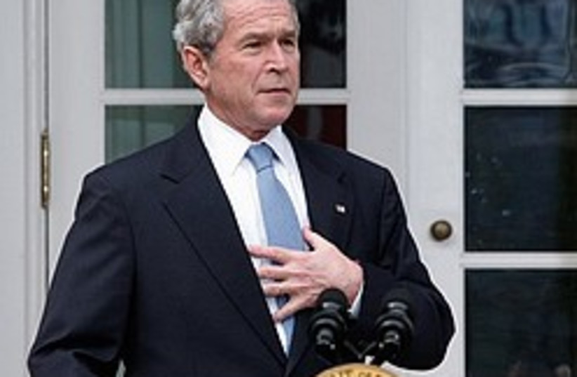 bush frank congratulates obama 248 88 (photo credit: AP)