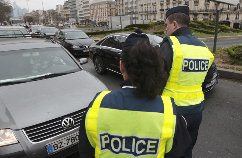 Police officers in France (photo credit: REUTERS)