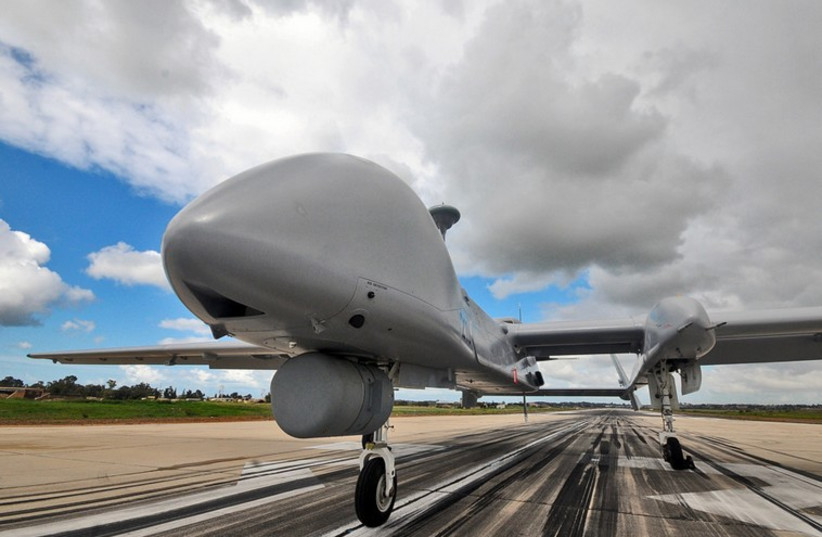 Israel Air Force unmanned aerial vehicle (photo credit: ISRAEL AIR FORCE MAGAZINE)