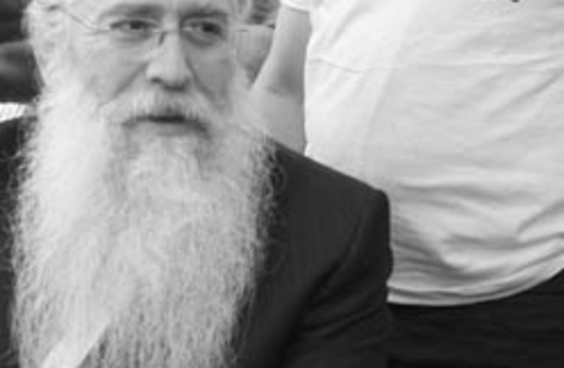 Meir Porush 248-88 (photo credit: Ariel Jerozolimksi )