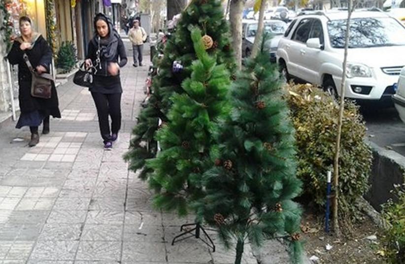 Christmas in Iran (photo credit: IRANIAN MEDIA)
