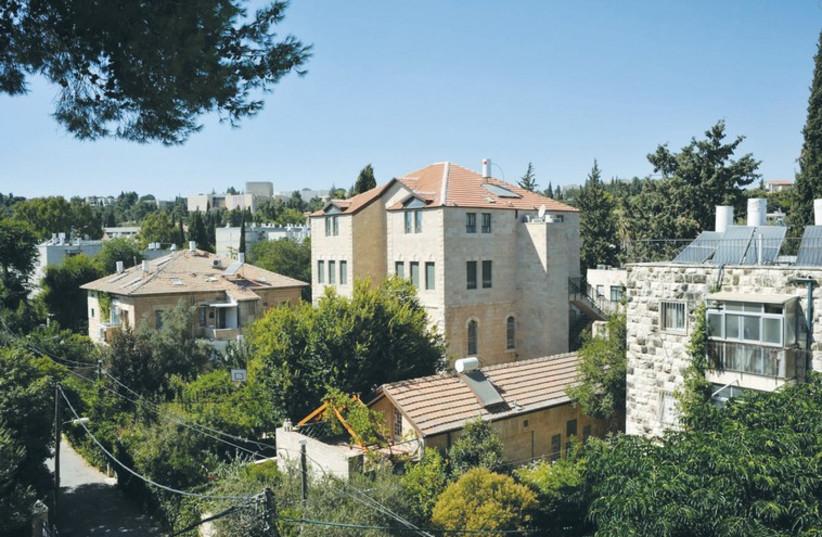 'Beautiful German Colony Rental' in Jerusalem (photo credit: COURTESY MAAYAN LEVY)