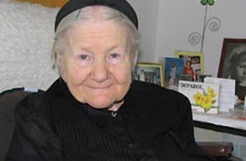 Irena Sendler 88 248 (photo credit: Iwona Hoffman)