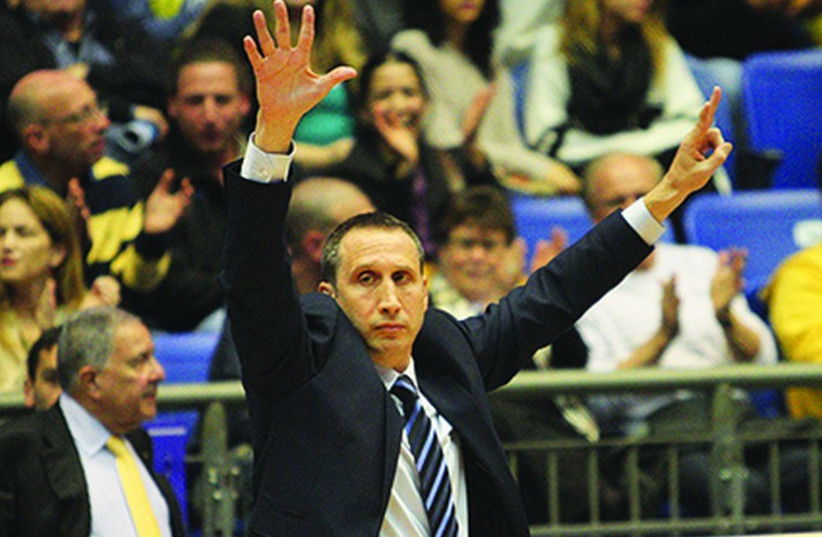 Cleveland Cavaliers coach and former Maccabi boss David Blatt (photo credit: ADI AVISHAI)