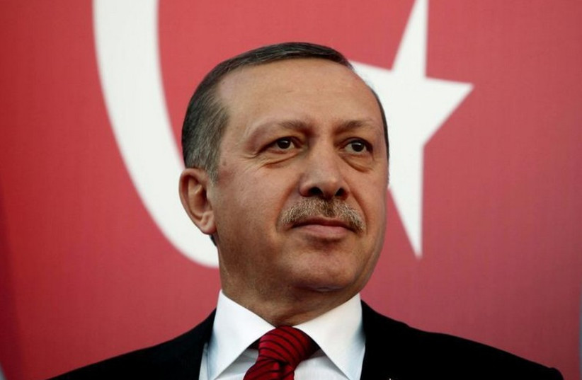 Turkish President Recep Tayyip Erdogan (photo credit: REUTERS)