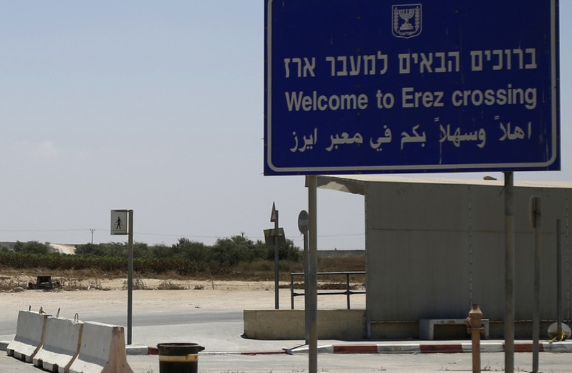 Erez crossing (photo credit: REUTERS)
