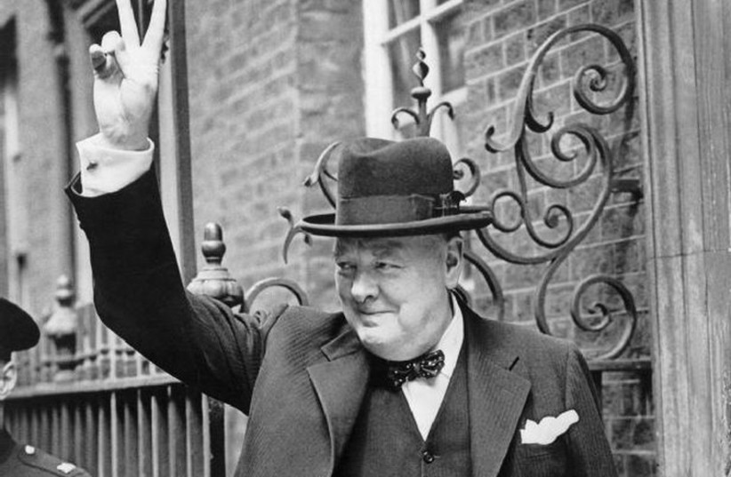 Sir Winston Leonard Spencer-Churchill (photo credit: Wikimedia Commons)