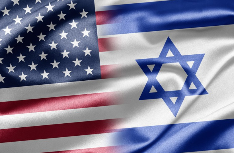 Israel and US flags (photo credit: INGIMAGE)