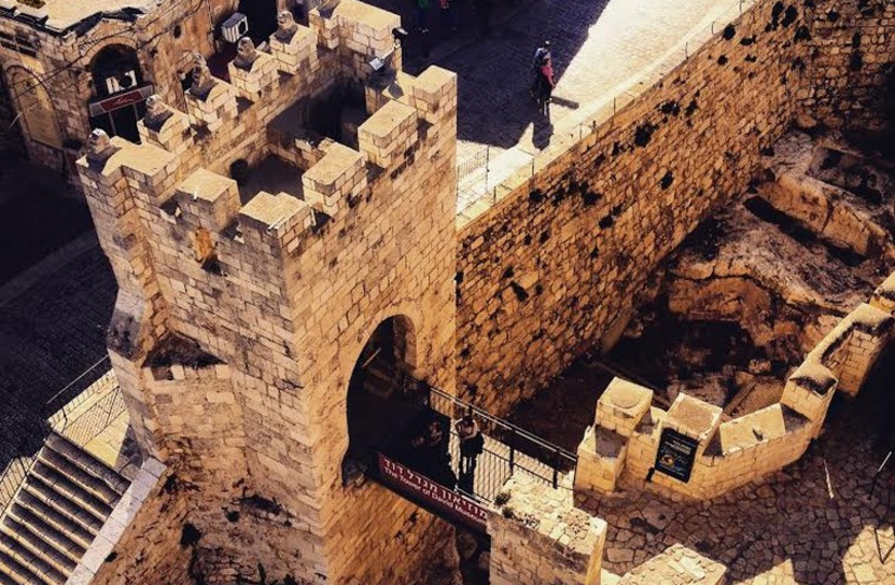 Tower of David in Jerusalem's Old City (photo credit: SETH J. FRANTZMAN)