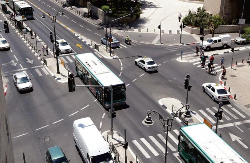 Public transportation (photo credit: MARC ISRAEL SELLEM/THE JERUSALEM POST)