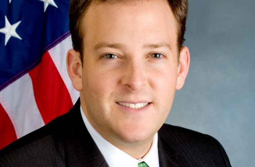 US Rep. Lee Zeldin (R-NY), the only Jewish Republican in Congress (photo credit: Courtesy)