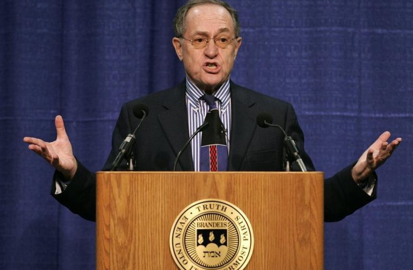 Famed lawyer Alan Dershowitz (photo credit: REUTERS)