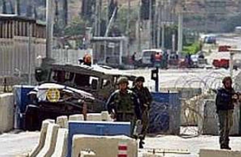 erez crossing 298 ap (photo credit: AP [file])