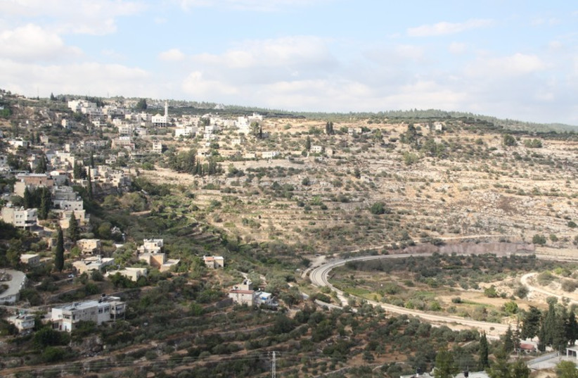 The Battir valley, a World Heritage UNESCO site, where the IDF had wanted to built 500 meters of the West Bank security barrier. (photo credit: TOVAH LAZAROFF)