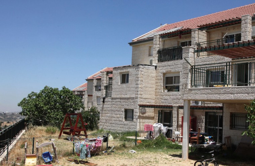 Homes in the Beit El settlement, West Bank  (photo credit: MARC ISRAEL SELLEM)
