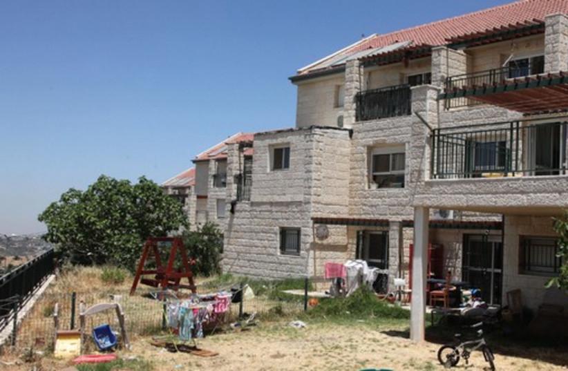 Homes in the Beit El settlement, West Bank  (photo credit: MARC ISRAEL SELLEM)