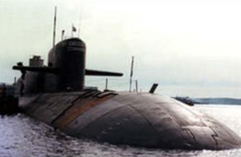 russian nuclear submarine 248 88 (photo credit: AP [file])