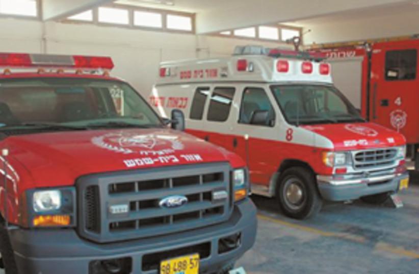 fire truck 298 (photo credit: )
