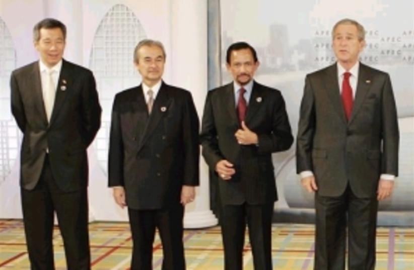 APEC leaders 298 AP (photo credit: )