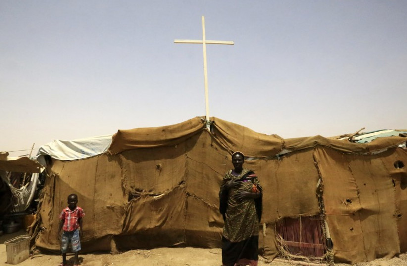 Christians in South Sudan (photo credit: REUTERS)