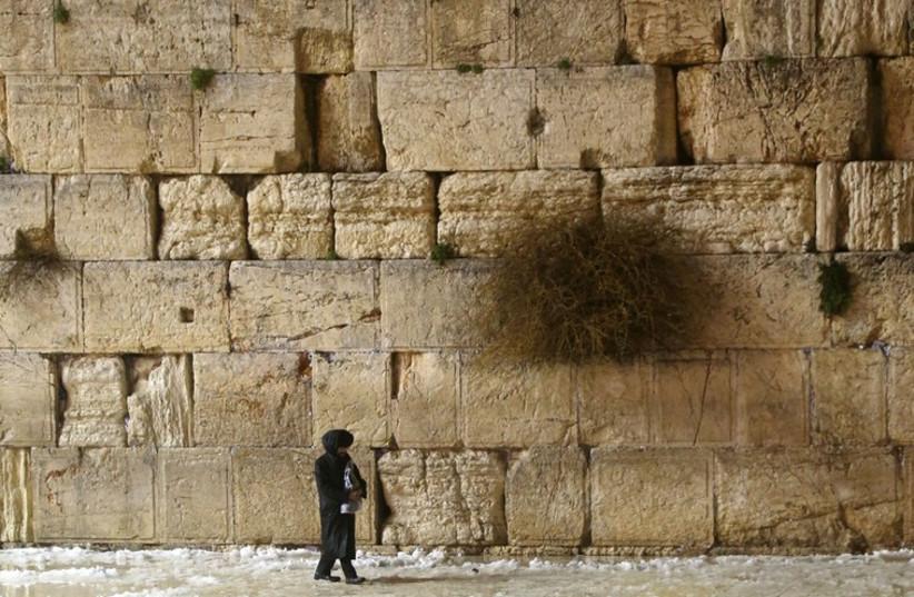 Snow in Jerusalem (photo credit: MARC ISRAEL SELLEM/THE JERUSALEM POST)